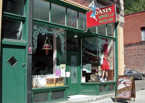 Oasis Bordello Museum in Northern Idaho