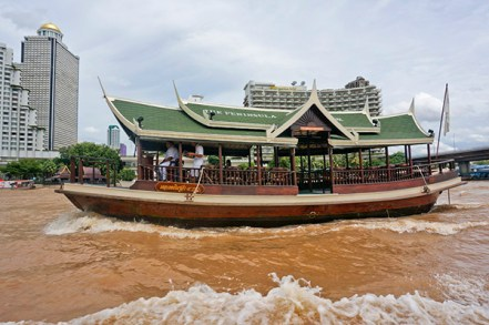 Boat on the river, Bankok, Thailand