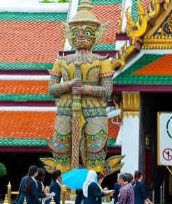 Giant Statue, Grand Palace