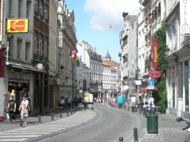 Brussels Street Scene. Photo credit: Deborah Stone