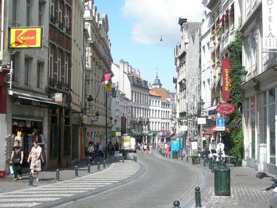 Brussels Street Scene. Photo credit: Deborah Stone