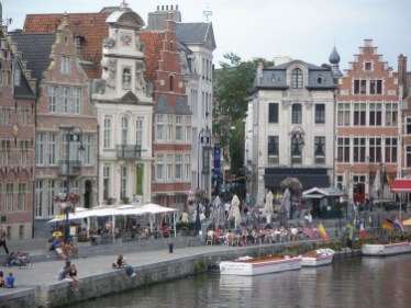 Ghent is another of Belgium's historical wonderlands. Photo Credit: Deborah Stone