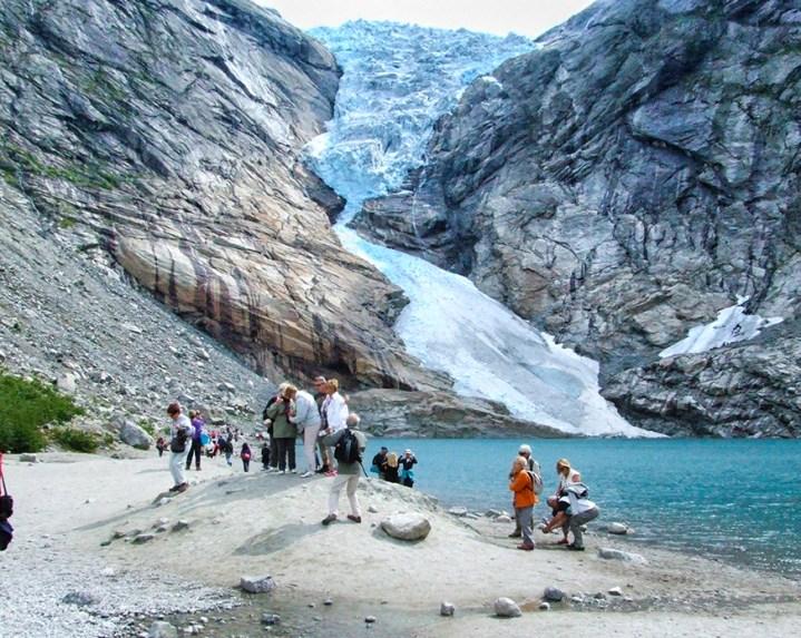 Briksdal Glacier, Hellesylt. Photo credit: Jennifer Crites