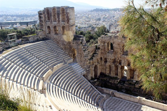 Coliseum at the Acropolis. Photo credit: Jim Richardson