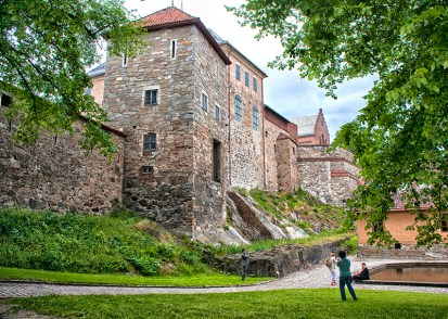 Oslo: Akershus Castle. Photo credit: Jennifer Crites