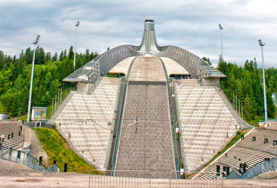 Oslo: Holmenkollen ski jump. Photo credit: Jennifer Crites