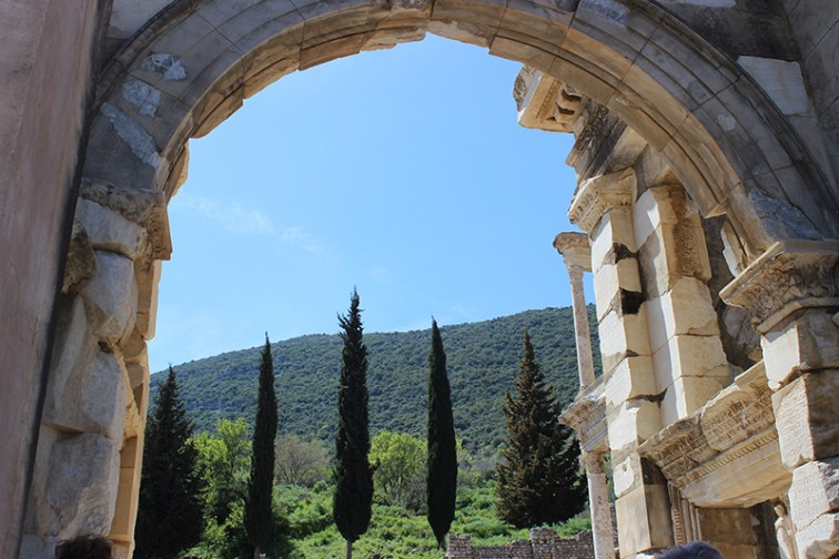 Ephesus arch in Turkey, Photo credit: Jim Richardson.