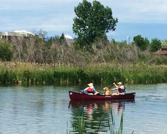 Canoeing. Photo Credit: Barb Gonzalez