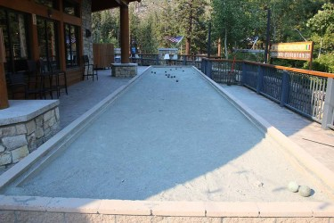 Bocce ball for the adults. Photo Credit: Carrie Dow