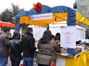 Rudy's Mexican Food was service just what the crowd was looking for. Photo Credit: Leslie Long