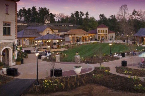 Antler Hill Village. Photo credit: The Biltmore Company