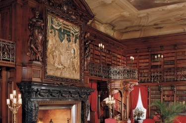 Library. Photo credit: The Biltmore Company