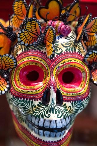 Mask of Dia de Los Muertos