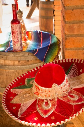 Red sombrero at Canopy River
