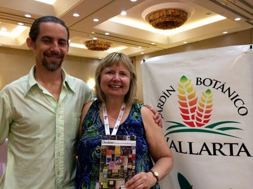 Doreen Pendgracs received the invitation to speak at the Vallarta Botanical Gardens from Executive Director Neil Gerlowski
