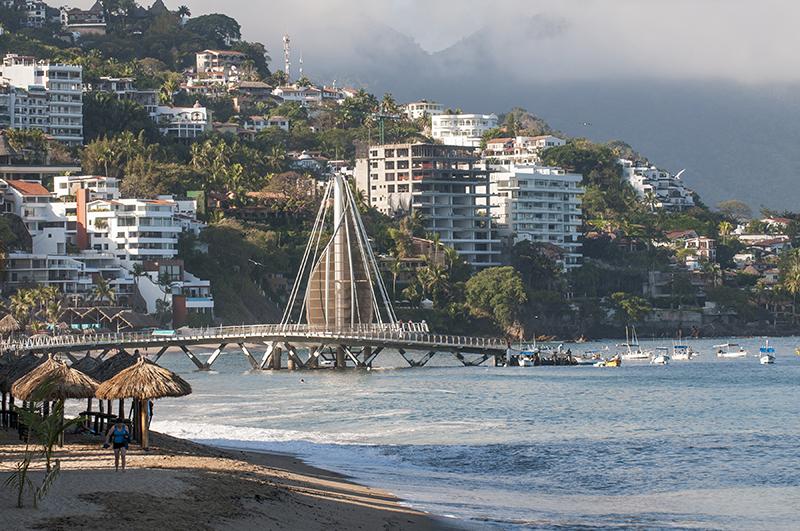 Puerto Vallarta beach pier