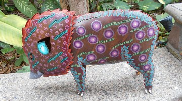Painted Pig