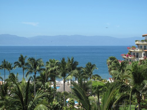 View from our balcony at Velas Vallarta