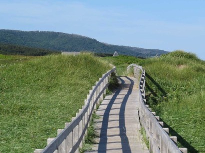Cabot Links Inverness boardwalk