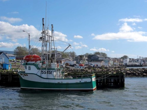Cheticamp Fishing boats