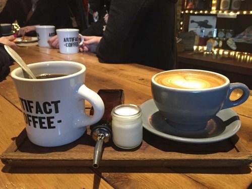 Spike Gjerde's Artifact Coffee