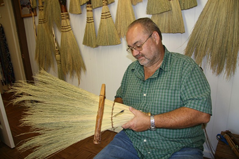 David Ogle designs broom