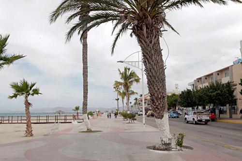 El Malecón in La Paz, Mexico