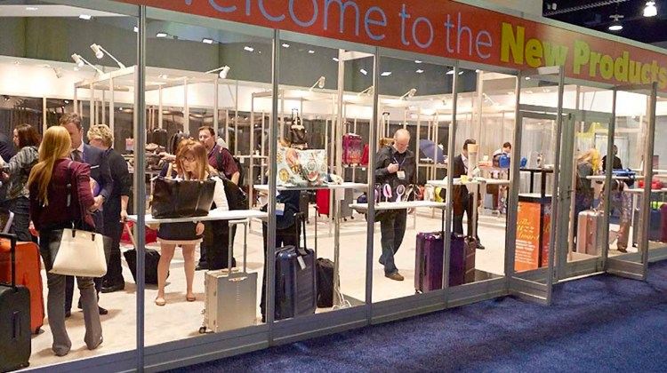 International Travel Goods Show - image courtesy of Travel Goods Association
