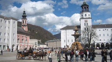 Salzburg main square