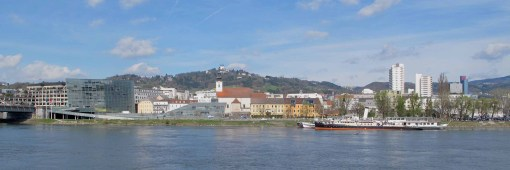 Danube and north side of Linz