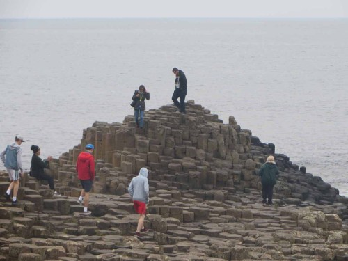 The Giant Causeway is a geological wonder