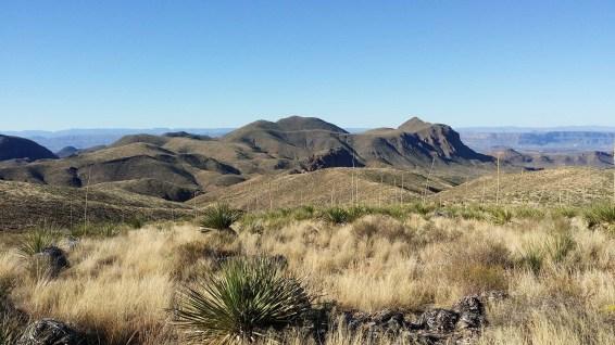 Sotol Vista, View toward Mexico