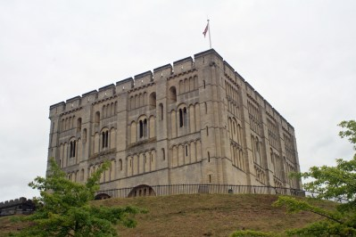 Norwich Castle was built in the 11th century. Photo by Melanie Votaw