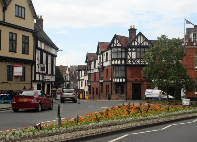 Tudor architecture in Norwich, England. Photo by Melanie Votaw