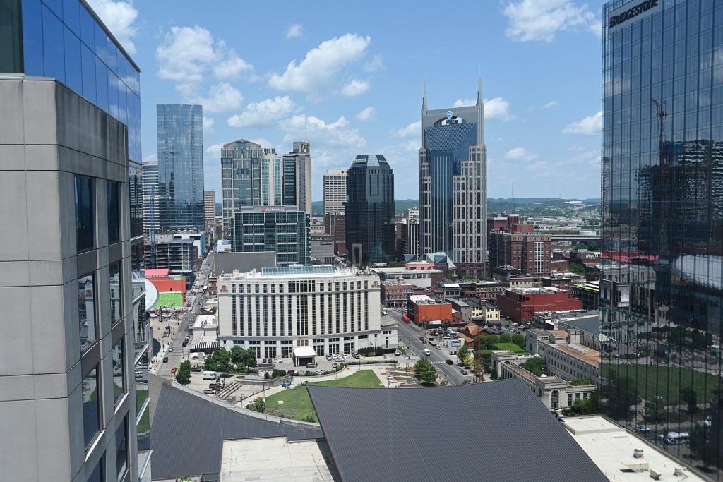2. Nashville's new skyline
