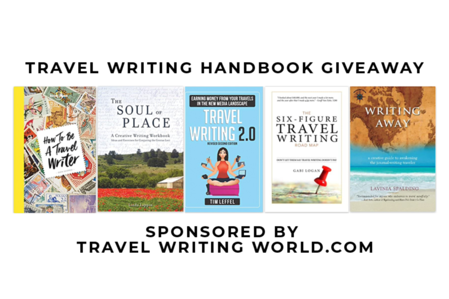 travel writing giveaway
