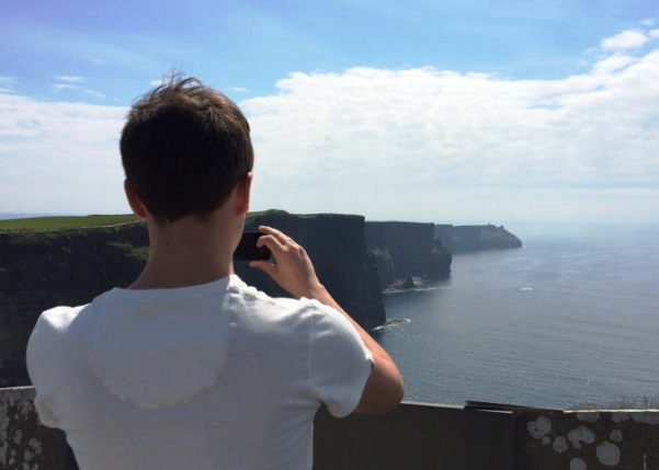 Cliffs of Moher mit Timo