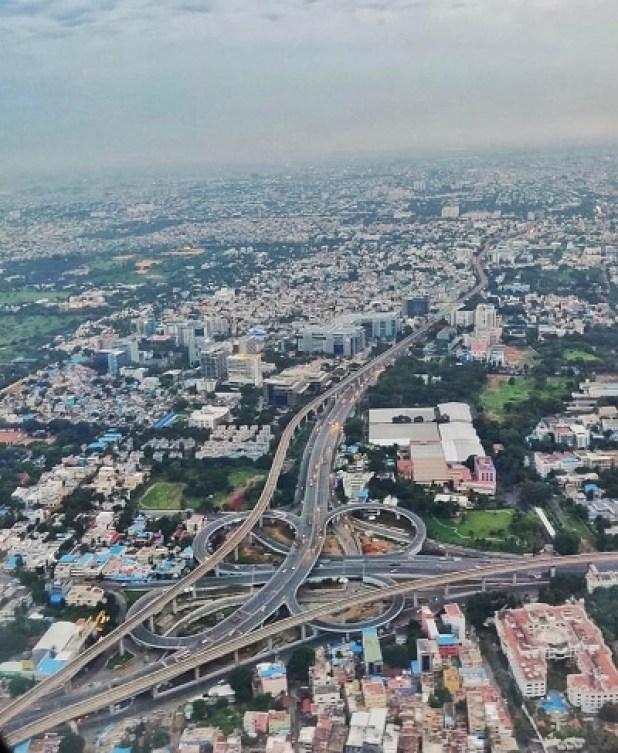 Longest Sangam Interchange of India