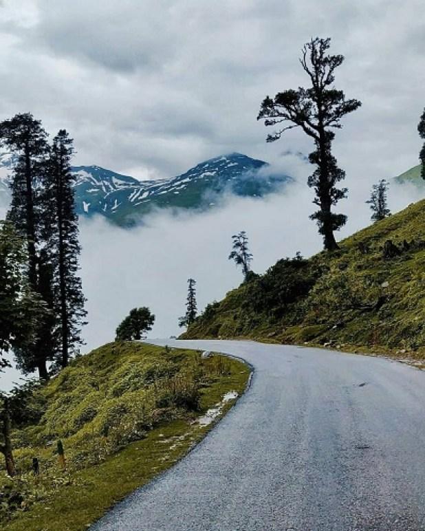 Highest elevation highway of India