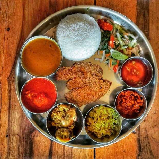 Kismur: Food in Goa