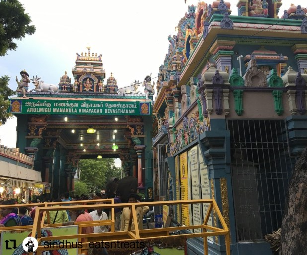 Arulmiga Manakula Vinayagar Temple
