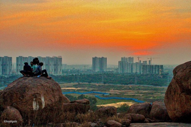 View of Hyderabad City