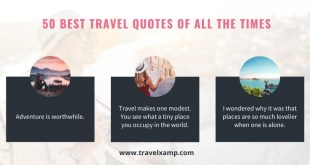Top 50 Travel Quotes