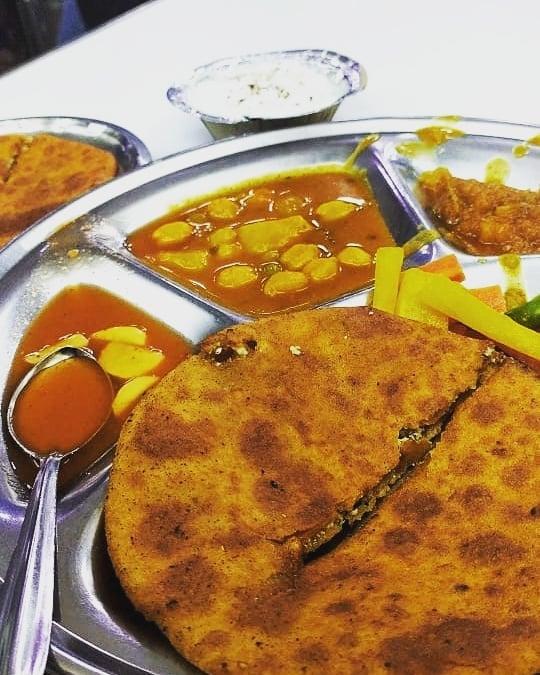 Parathas: Street food of Delhi
