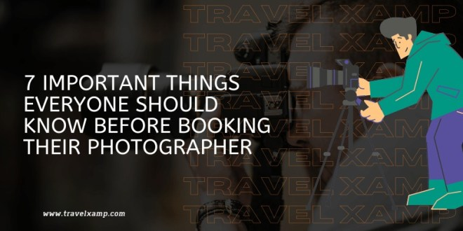 Things to know before booking photographer