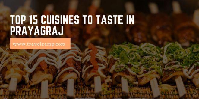 Top 15 Cuisines to taste in Prayagraj