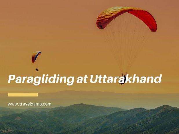 Paragliding at Uttarakhand