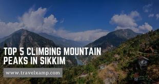 Top 5 Climbing Mountain Peaks in Sikkim
