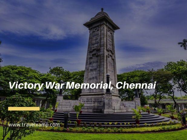 Victory War Memorial, Chennai