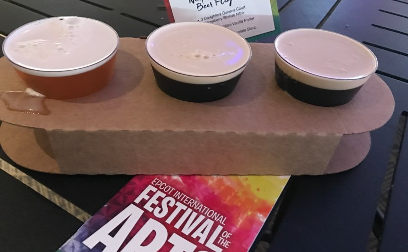 Disney's new Epcot Festival of the Arts — The Food